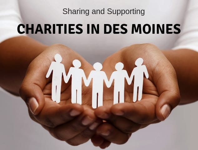 Giving Back – Charities in Des Moines