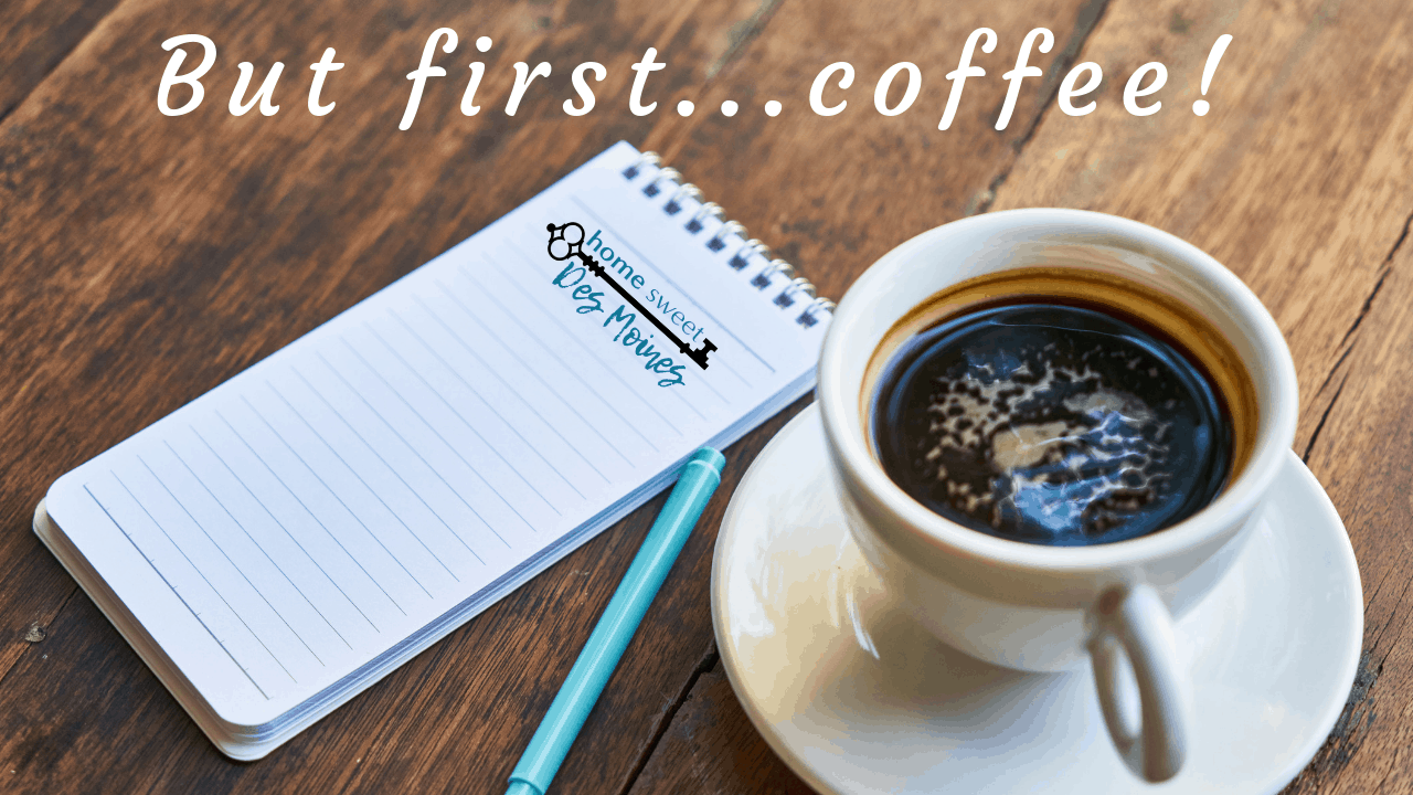 But first… coffee!