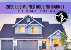 2020 Des Moines Housing Market Update – 1st Quarter