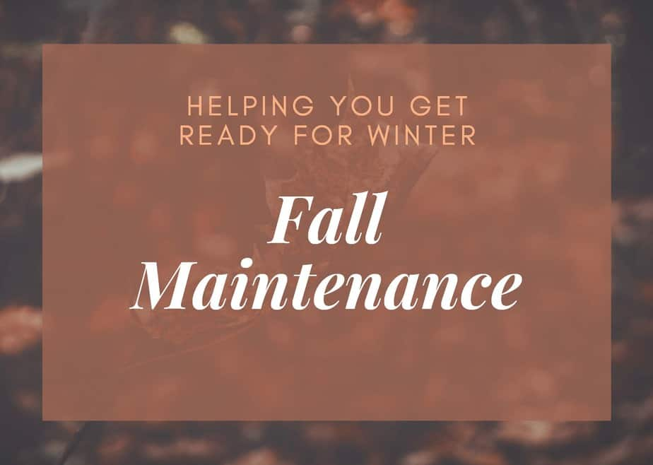 Fall Maintenance