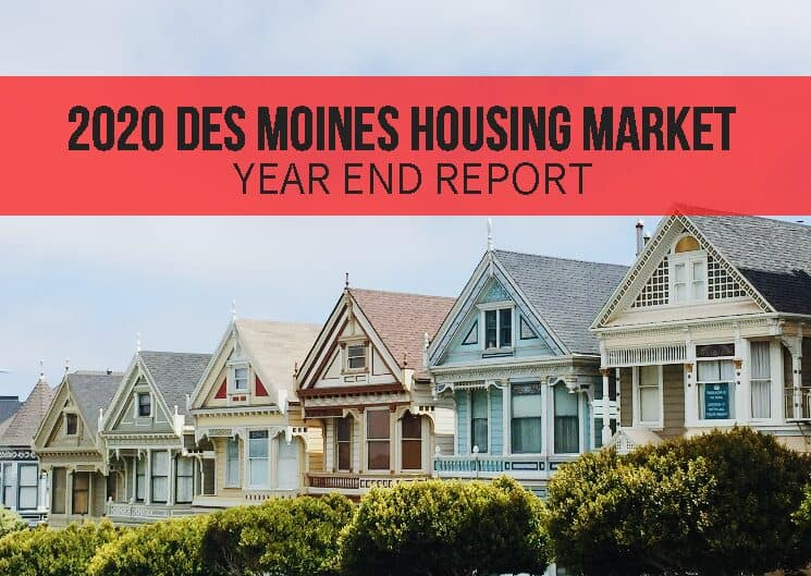 How was Real Estate in 2020 in Des Moines?